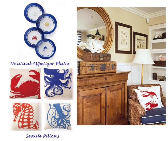 Coastal Home Decor Accessories: Decorating Coastal Style