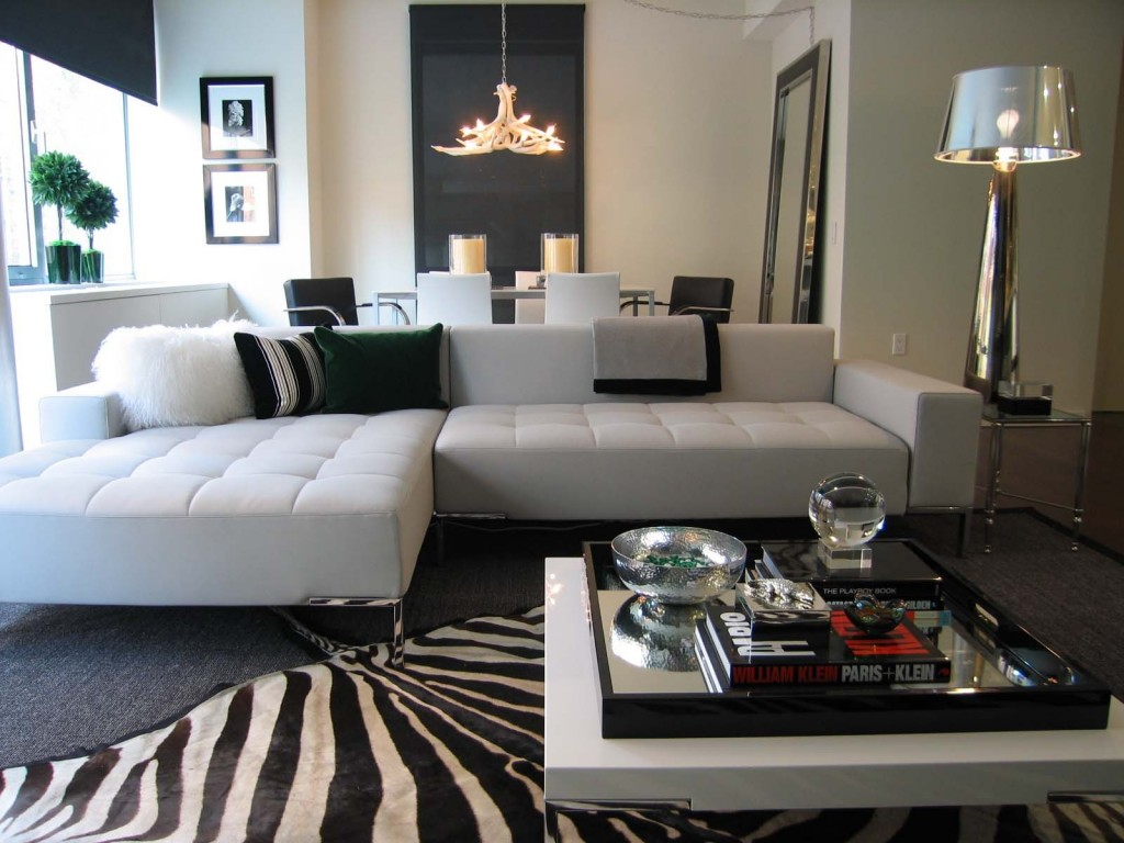 black and white decorating with animal prints Archives ...