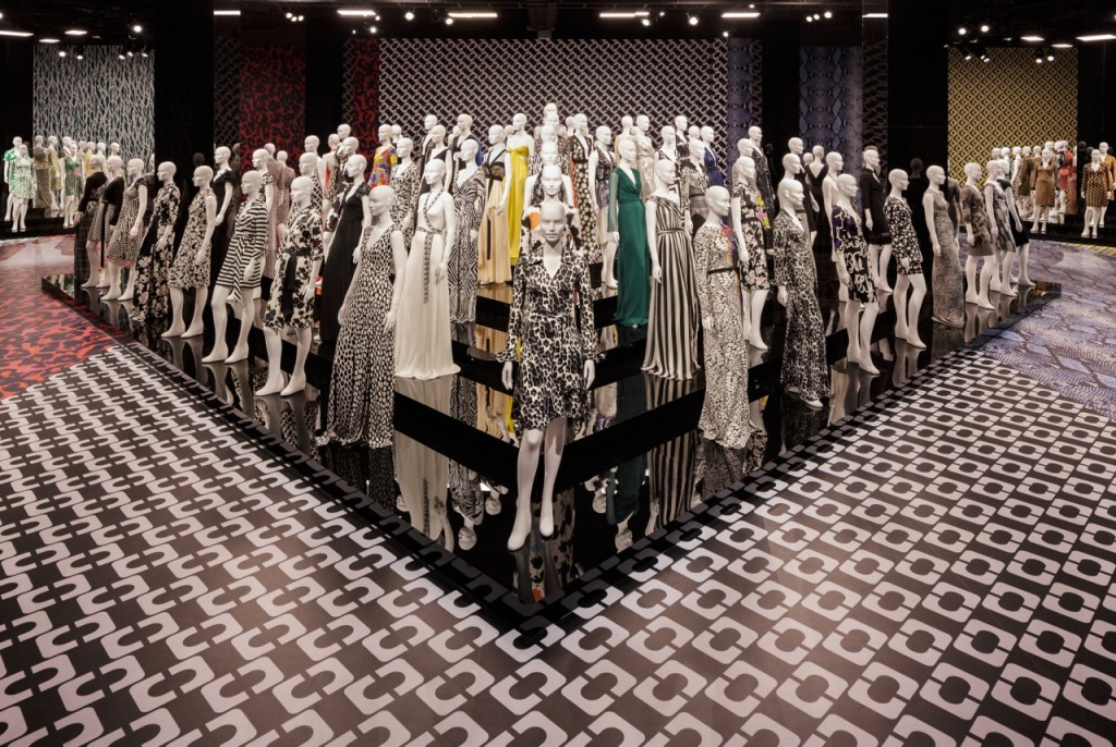 Diane von Furstenburg's Journey of a Dress Exhibition