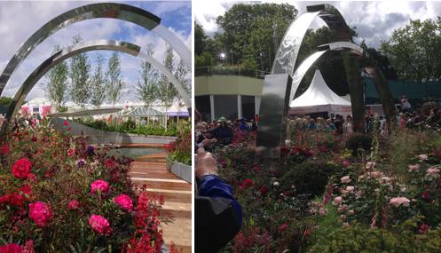 Chelsea Garden Show Outdoor Garden Designs