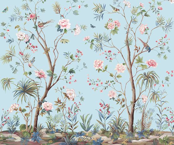 Designing Interiors With Chinoiserie Inspired Wallpaper Murals