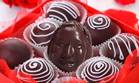 Chocolate portraits
