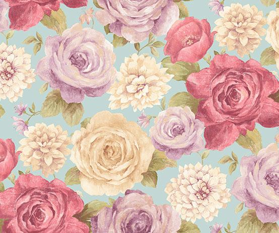 rosey-blue