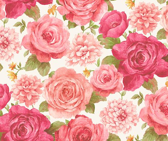 rosey-white