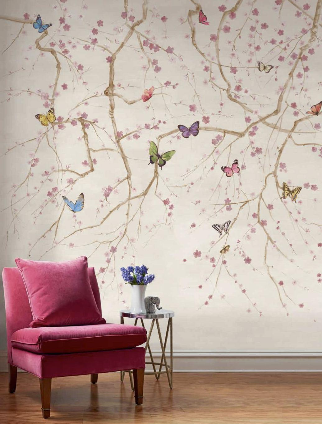 Butterfy Folly Mural